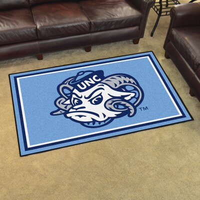 NCAA University of North Carolina - Chapel Hill Mat Mat Size: Rectangle 5 x 6
