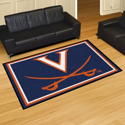 NCAA University of Virginia Rug Rug Size: 5 x 78
