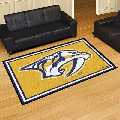 NHL - Nashville Predators Rug Rug Size: 5 x 78