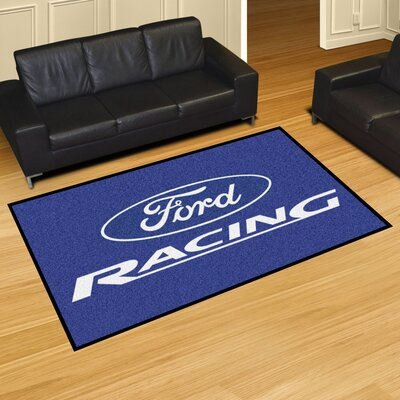 Ford - Ford Racing Tailgater Mat Rug Size: 5 x 8