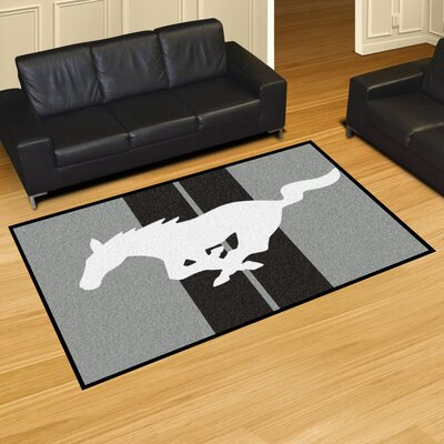 Ford - Mustang Horse Tailgater Mat Rug Size: 5 x 8