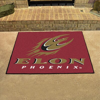 NCAA Elon University All Star Doormat