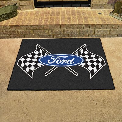 Ford - Ford Flags All Star Mat Color: Black