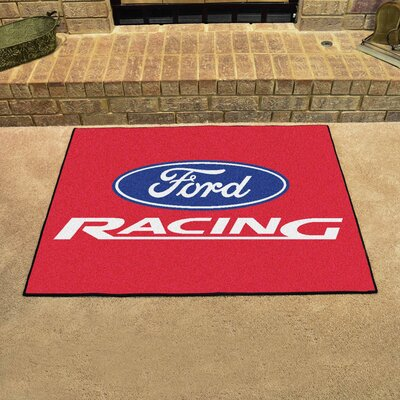 Ford - Ford Racing All Star Mat Color: Red