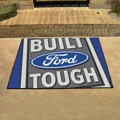 Ford - Built Ford Tough All Star Mat Color: Blue
