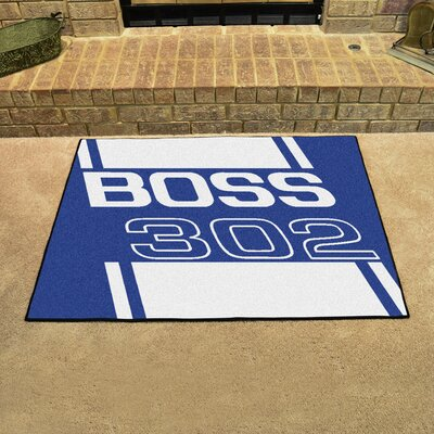 Ford - Boss 302 All Star Mat Color: Blue