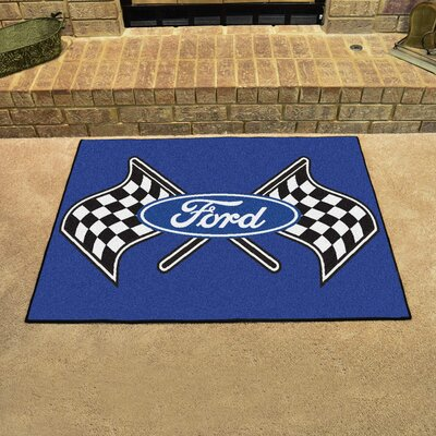Ford - Ford Flags All Star Mat Color: Blue