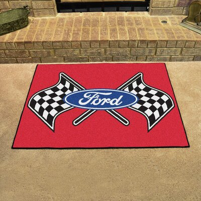Ford - Ford Flags All Star Mat Color: Red