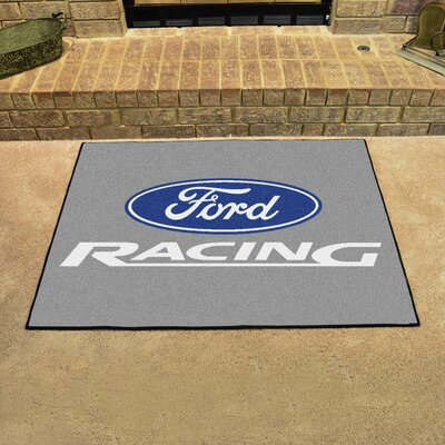 Ford - Ford Racing All Star Mat Color: Gray