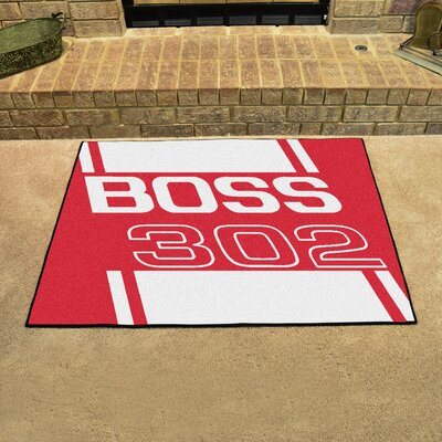Ford - Boss 302 All Star Mat Color: Red