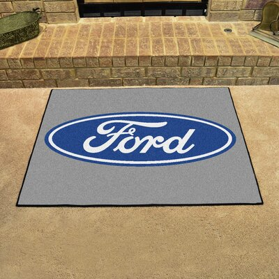 Ford - Ford Oval All Star Mat Color: Gray