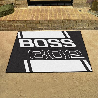 Ford - Boss 302 All Star Mat Color: Black
