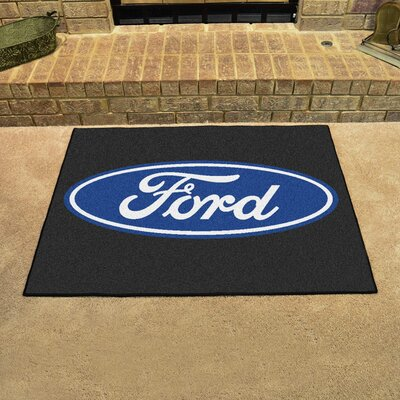 Ford - Ford Oval All Star Mat Color: Black