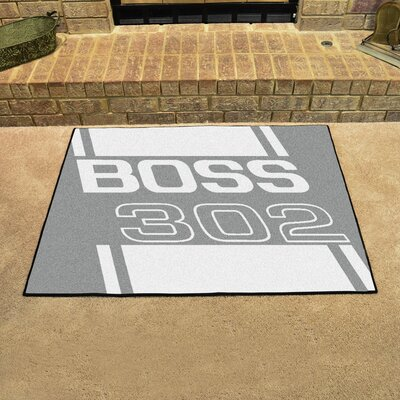 Ford - Boss 302 All Star Mat Color: Gray