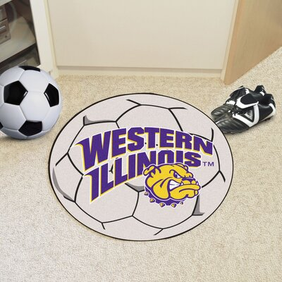 NCAA Western Illinois University Soccer Ball