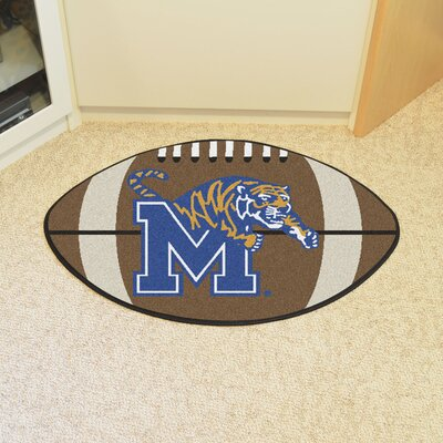 NCAA University of Memphis Football Doormat