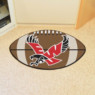 NCAA Eastern Washington University Football Mat Rug Size: 1'10