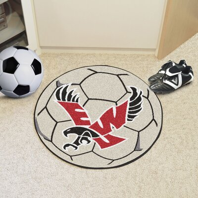 NCAA Eastern Washington University Football Mat Rug Size: Round 2'3
