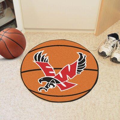 NCAA Eastern Washington University Basketball Mat Rug Size: Round 23