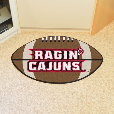 NCAA Louisiana-Lafayette Football Doormat