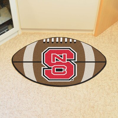 NCAA North Carolina State University Football Doormat