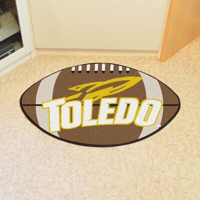 NCAA University of Toledo Football Doormat