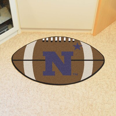 NCAA U.S. Naval Academy Football Doormat