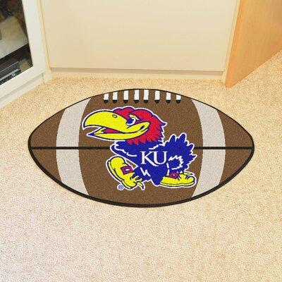 NCAA University of Kansas Football Doormat