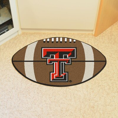 NCAA Texas Tech University Football Doormat