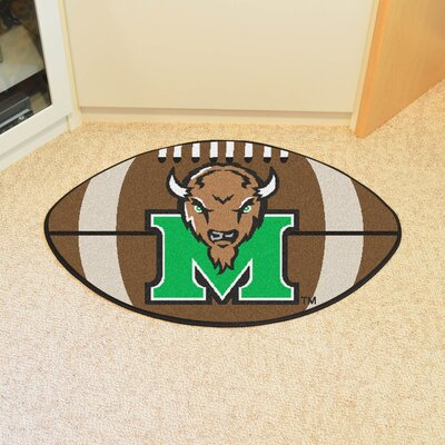 NCAA Marshall University Football Doormat