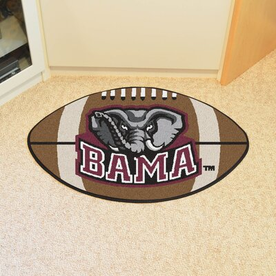 NCAA University of Alabama Football Doormat