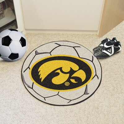 NCAA University of Iowa Soccer Ball