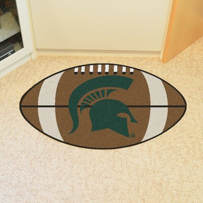 NCAA Michigan State University Football Mat