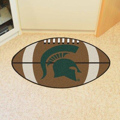 NCAA Michigan State University Football Mat