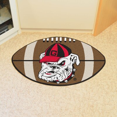 NCAA University of Georgia Football Mat