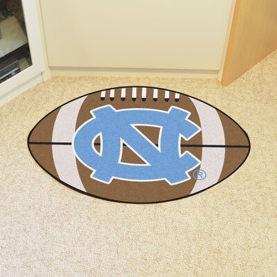 NCAA University of North Carolina - Chapel Hill Football Mat