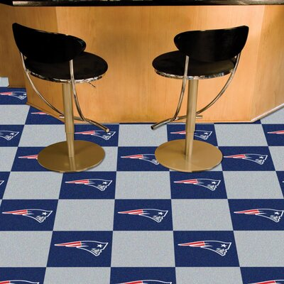 NFL Team 18 x 18 Carpet Tile NFL Team: New England Patriots