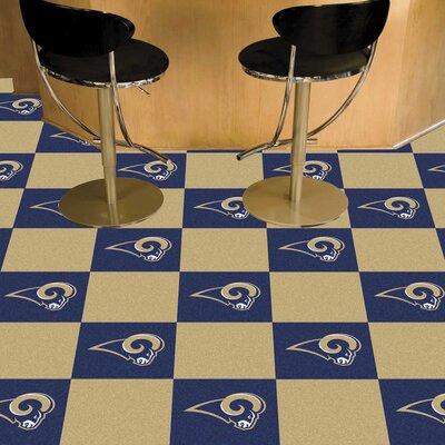 NFL Team 18 x 18 Carpet Tile NFL Team: St. Louis Rams