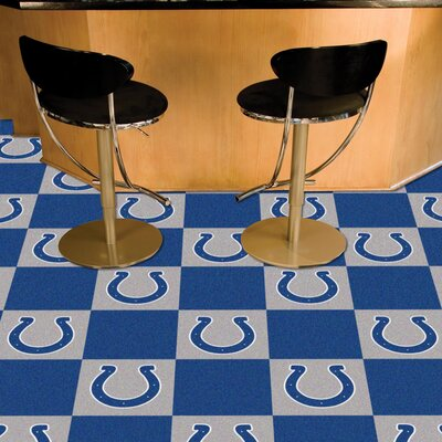 NFL Team 18 x 18 Carpet Tile NFL Team: Indianapolis Colts