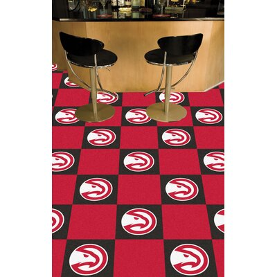 NBA - Washington Wizards Team Carpet Tiles NBA Team: Atlanta Hawks