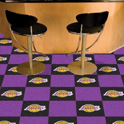 NBA - Washington Wizards Team Carpet Tiles NBA Team: Los Angeles Lakers