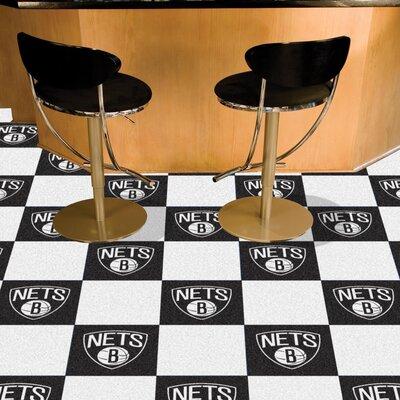 NBA - Washington Wizards Team Carpet Tiles NBA Team: New Jersey Nets