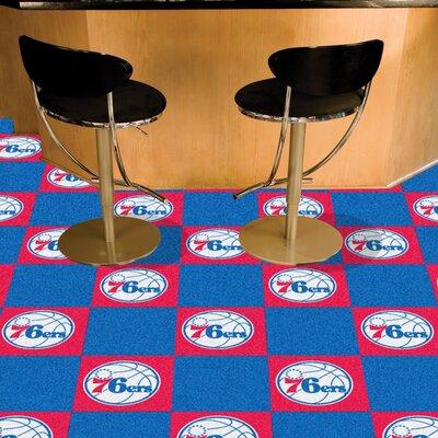 NBA - Washington Wizards Team Carpet Tiles NBA Team: Philadelphia 76ers