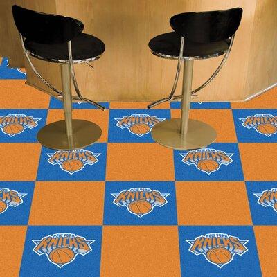 NBA - Washington Wizards Team Carpet Tiles NBA Team: New York Knicks