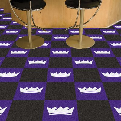 NBA - Washington Wizards Team Carpet Tiles NBA Team: Sacramento Kings