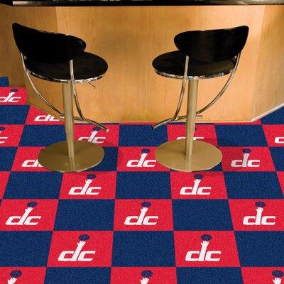 NBA - Washington Wizards Team Carpet Tiles NBA Team: Washington Wizards