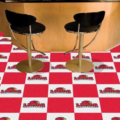 NCAA Lamar University Team Carpet Tiles