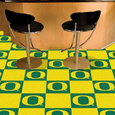 NCAA University of Oregon Team Carpet Tiles
