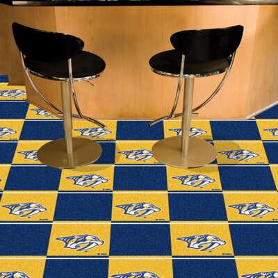 NHL - Nashville Predators Team Carpet Tiles NHL Team: Nashville Predators