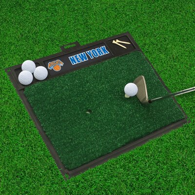Golf Hitting Mat NBA Team: New York Knicks